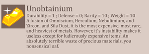 HB: Unobtainium by The-Knick