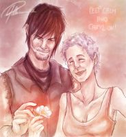 Ceep calm and Caryl on! (SPOILER WARNING!) by Peach-Coke