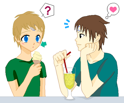 Damien and Jack date by Kasumi121