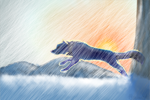 In The Storm by miyumicat