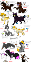 Cat and Dog Adoptables OPEN by PI0SON