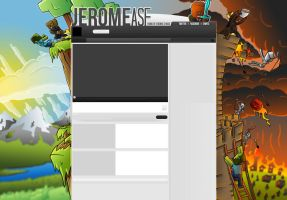 JeromeASF: Minecraft Youtube Background by FinsGraphics