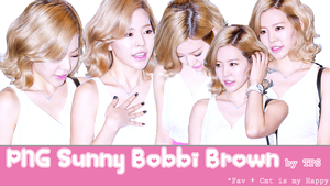 PNG Sunny bobby brown by ThaoPhanSone by ThaoPhanSone