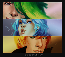 Colorimetry: GY dammit by Dragons-Roar