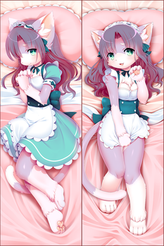 Plum Dakimakura by Poooding