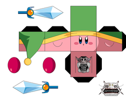 Sword Kirby by hollowkingking