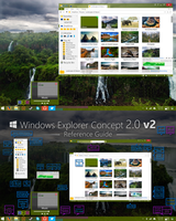 Windows Explorer Concept 2.0 v2 by dAKirby309