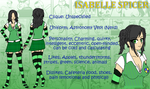 .:BULLY OC - Isabelle Spicer:. by SinfulFox