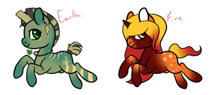 $1 PayPal Pony Adopts (OPEN) by LeoxLinx