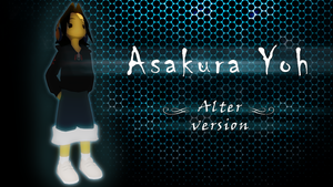 Asakura Yoh - school version by KayCornea