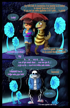 Sans overhears a conversation of a few moments ago by Bian-Chesiir