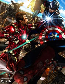 Civil War by Petite-Madame