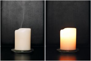 2 Candle Images by Blinded-Stock
