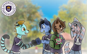 Off to College [IMPORTANT! PLEASE READ!] by FaithLeafCat
