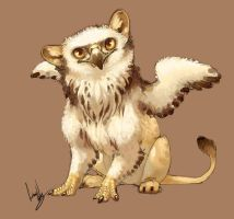 Baby Gryphon by hellcorpceo