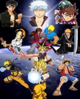 Shonen Jump Heroes by SuperSaiyanCrash