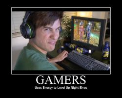 Gamer Uses 15 Hour Energy by htfman114