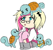Drowning in Squirtles by Tokki-Doki