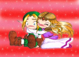 Zelda Snuggle by Sahan