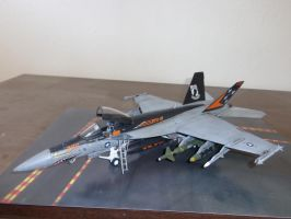 weathered Revell super hornet 005 by Deamand