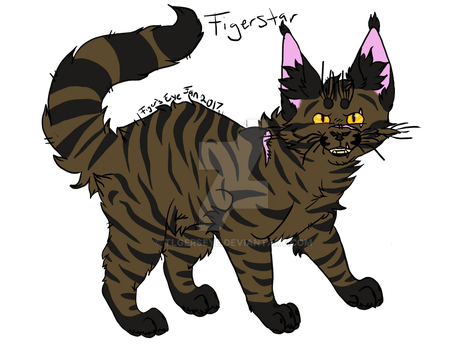 Day 5 of WC Challenge: Tigerstar by Tigerpool