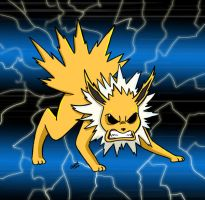Jolteon by AngelCrusher