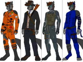 Outfit batch 10 by DexterTheFox