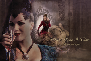 OUAT - Regina Wallpaper by Vampiric-Time-Lord