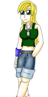 Allie Lang Alternate Hairstyle by ShadowFlames17