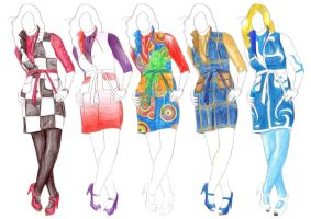 lol fashion design homework by SerikaArenai