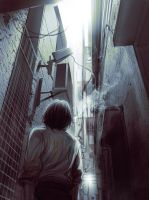 Alley by AReeeD