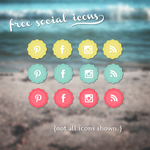 Social Icons May by TasnimEz