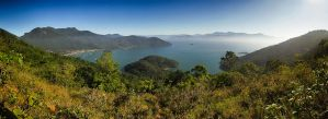 Ilha Grande Panorama by scwl
