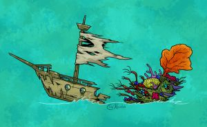 Halloween 15: Ghost Ship by Monster-Man-08