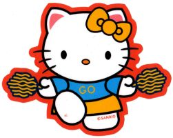 Hello Kitty 1 - Cheer by EJJS