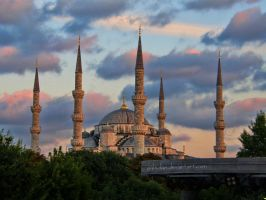 The Blue Mosque by g4l4d4n