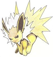 Jolteon by SuperDuperTutorials