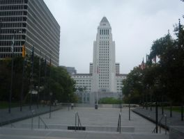 Los Angeles City Hall by BrettLove