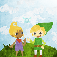 Link, Tetra, and Ciela by Chemically-Unstable
