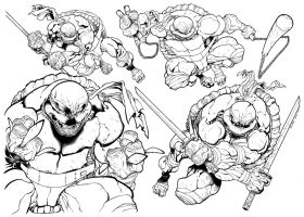 Teenage Mutant Ninja Turtles by WaldenWong