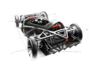 Alfa monoposto chassis. by DonManolino