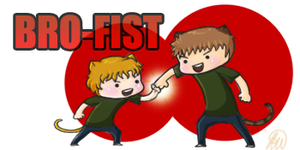 Bro-Fist by Snuckledrops