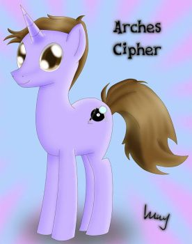 MLP OC - Arches Cipher by BrightDrive