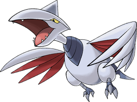 Skarmory |Day 7 by TheAngryAron