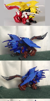 Custom Painted Battle Cougar Zoid by Iron-Zing