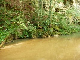 Cave River 1 by xGlassRaindropsStock