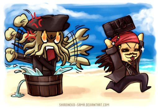 PotC: Run Jack Run by ShiroiNeko-sama