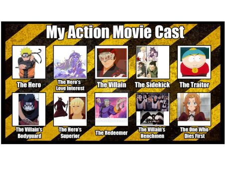 My action movie cast by Path-Of-NoEnd