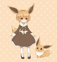 Eevee Girl by Joltik92