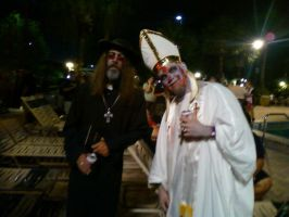 Zombie Clergy by ThatOtherFangirl